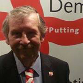 Alan ENGLAND - English Democrats =150%