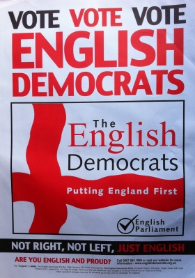 VOTE VOTE VOTE English Democrats