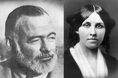 Authors=Alcott+Hemingway X2