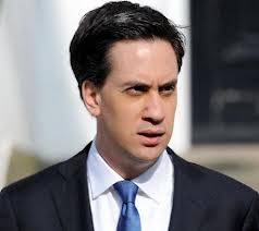 Ed Miliband - frowning