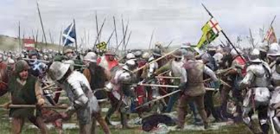Battle of Flodden 1513 X2
