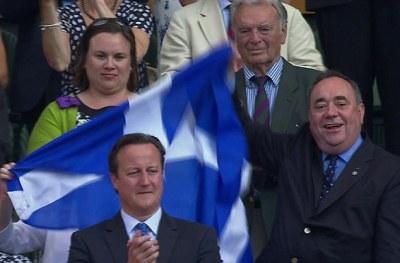 Salmond+Saltire@Wimbledon