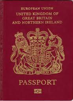 British Passport x 250%