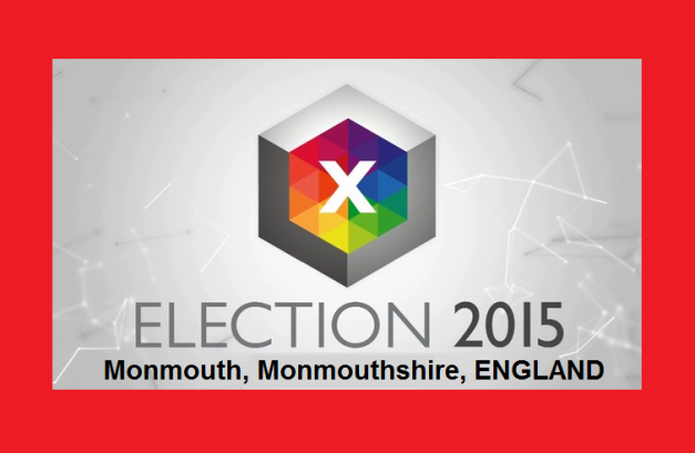 Monmouth, Monmouthshire, ENGLAND  - Election 2015